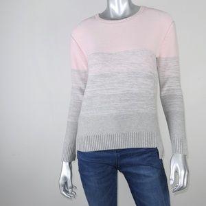 vince ∙ gradient crewneck cashmere sweater